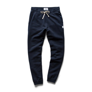RC Mid Wt Terry Slim Sweatpant - Navy