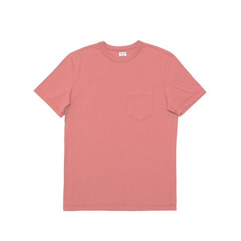 Dad's Pocket Tee Red Fade