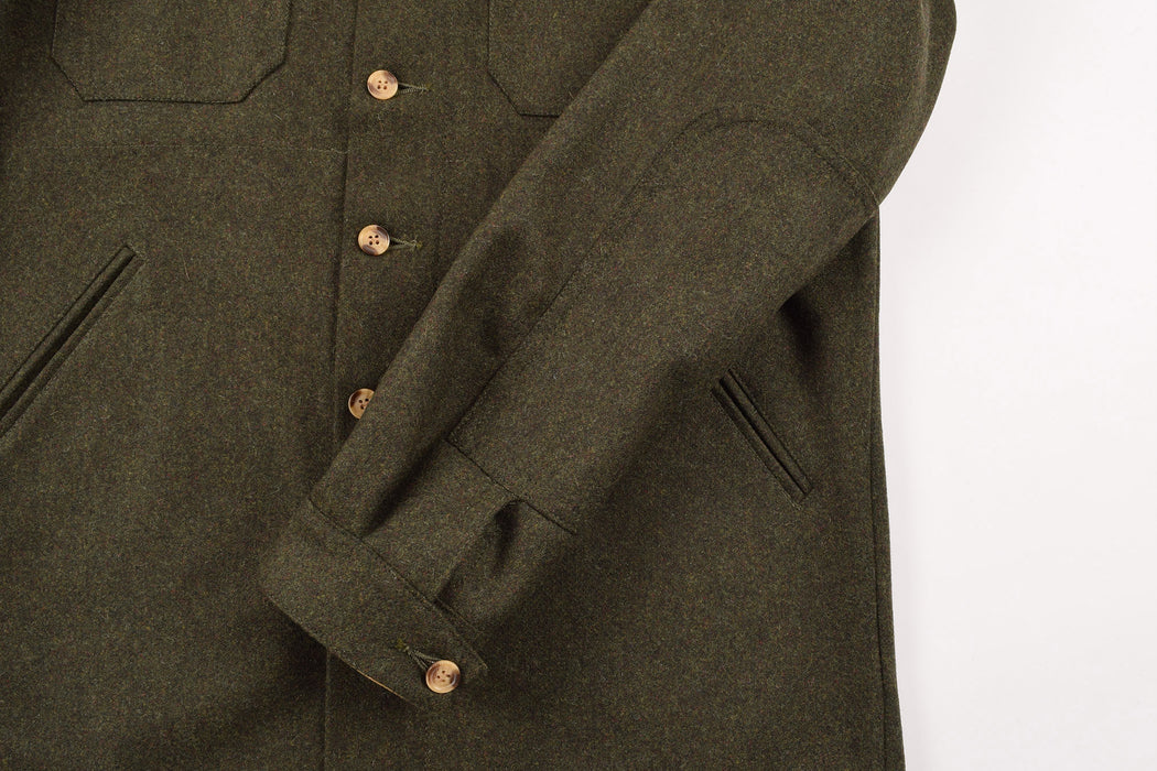 Crissman Over Shirt Olive Mix