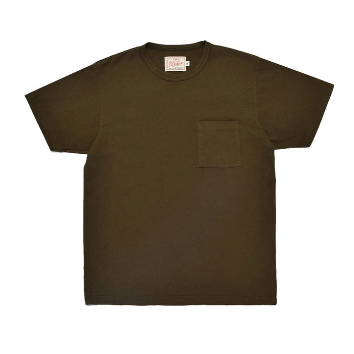 Heavy Duty Tee Single Pocket Loden
