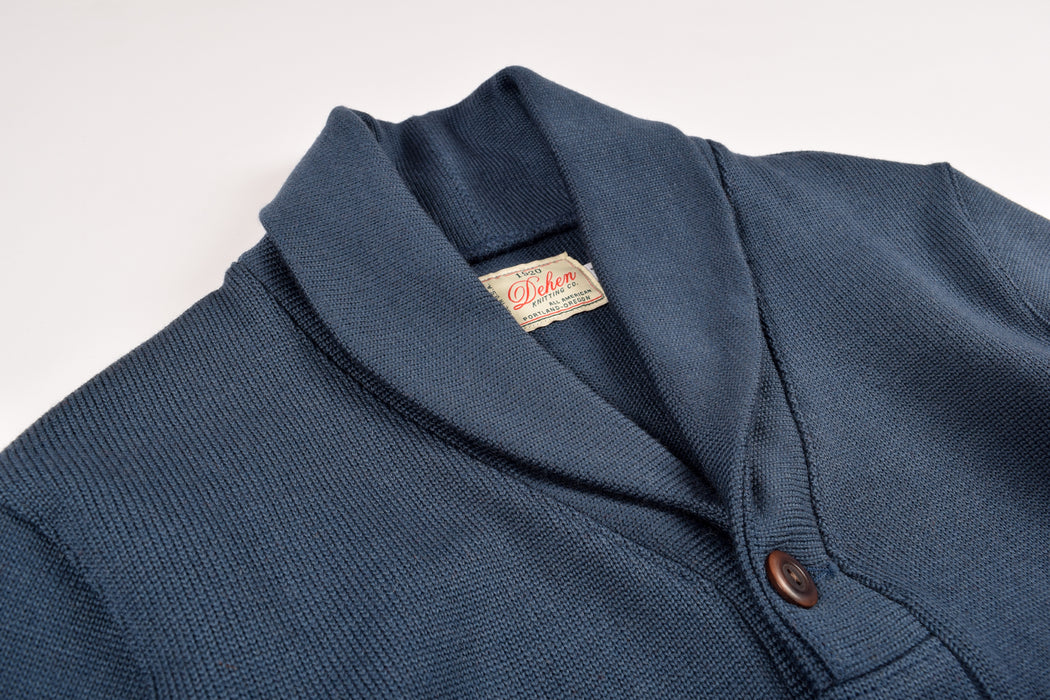 Shawl Sweater Coat Centennial Blue