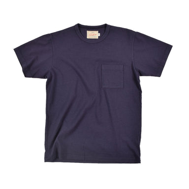 Heavy Duty Tee Single Pocket Navy