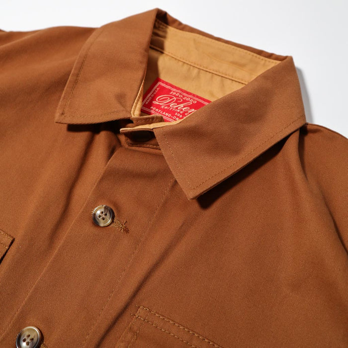 Crissman Over Shirt Whiskey Brush Twill