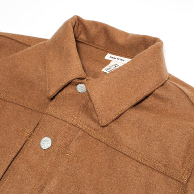 The Blade G jacket Heavy Melton Wool Camel