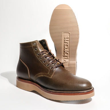 Service Boot Horween Dark Olive Waxed Flesh 2030