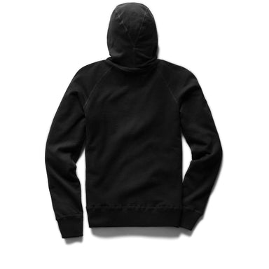 Light Weight Zip Hoody - Black