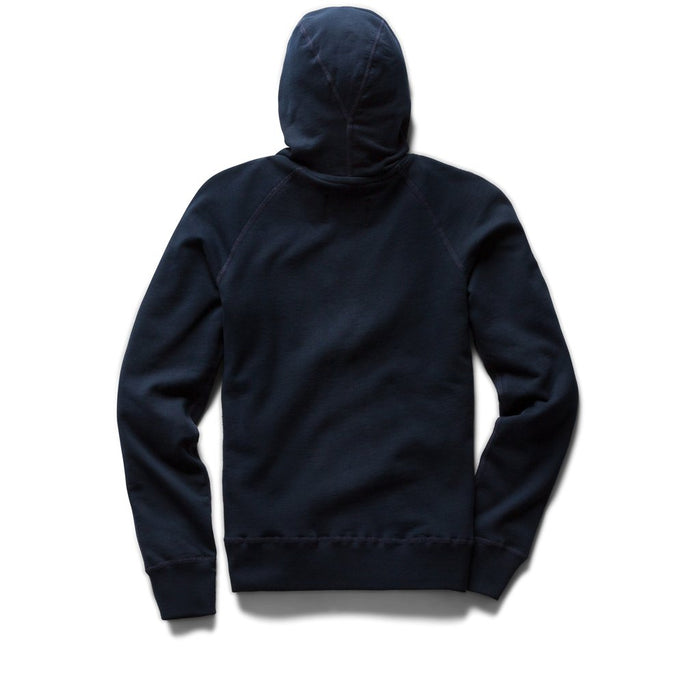 Light Weight Terry Pullover Hoodie - Navy