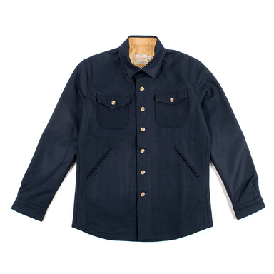 Crissman Over Shirt Dark Navy