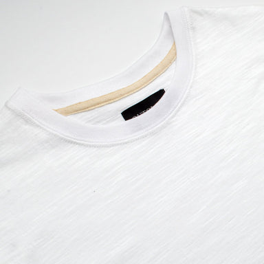 White Slub S/S T-Shirt