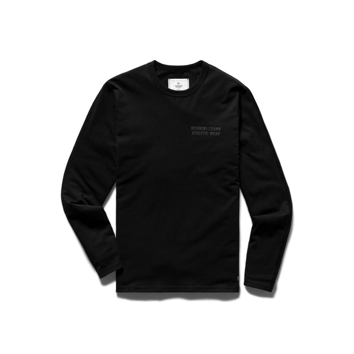 Knit Copper Longsleeve Tee - Black