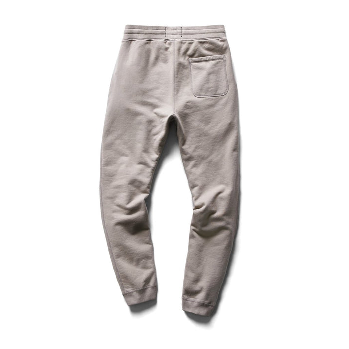Knit Mid Weight Terry Sim Sweatpant Silt