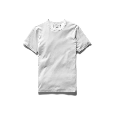 Solid Jersey S/S Crew Tee – White
