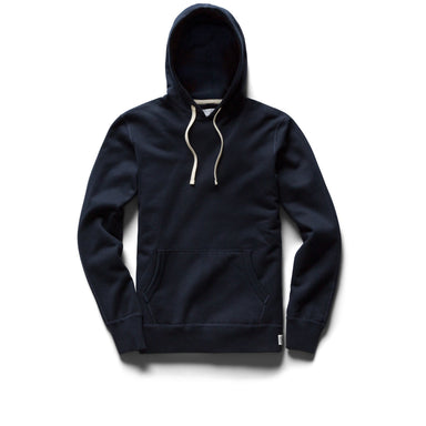 Mid Weight Pullover Hoody - Navy