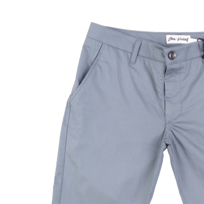 Keenan Slim Pant - Grey Blue