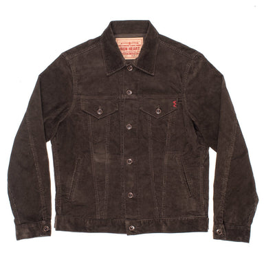 Corduroy Modified Type III Jacket - IHJ-69 - Brown