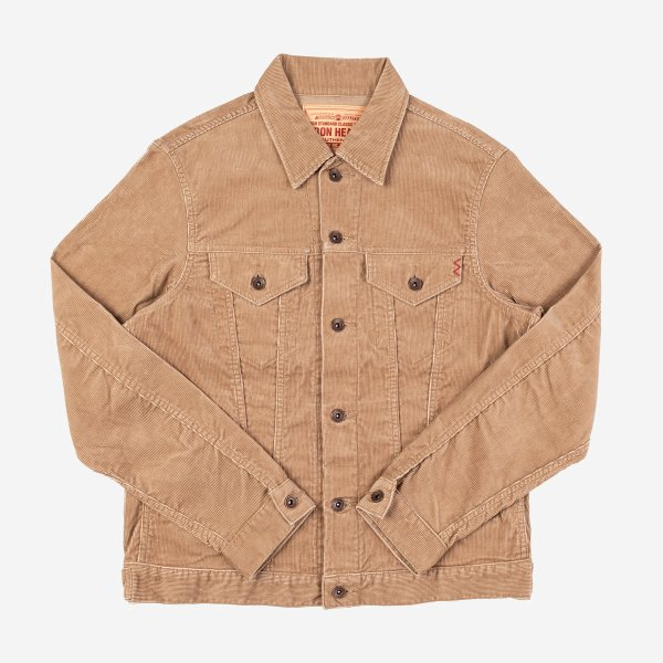 Corduroy Modified Type III Jacket - IHJ-69 - Khaki
