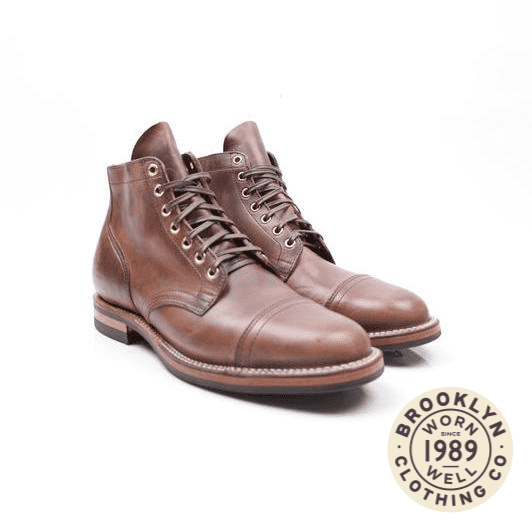 Viberg – Service Boot Natural CXL Unstructured Toe