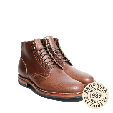 Service Boot Horween Natural Waxed flesh 1035