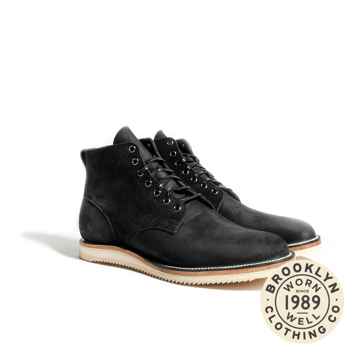 Viberg – Service Boot Charcoal Chamois Roughout