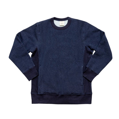 Heavyweight Crew Indigo Fleece