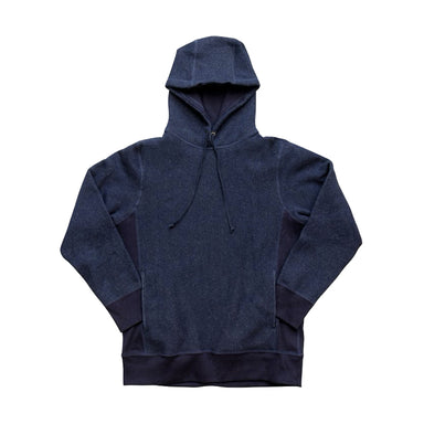 Heavyweight Pullover Hoody Indigo Fleece