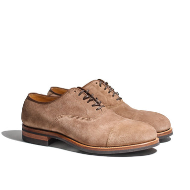 Bastion Oxford CFS Eco Veg Fallow Suede