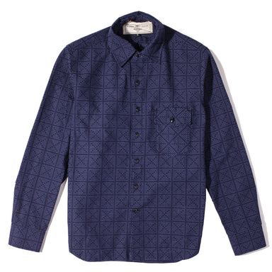 Oxford Work Shirt Stitch Sashiko