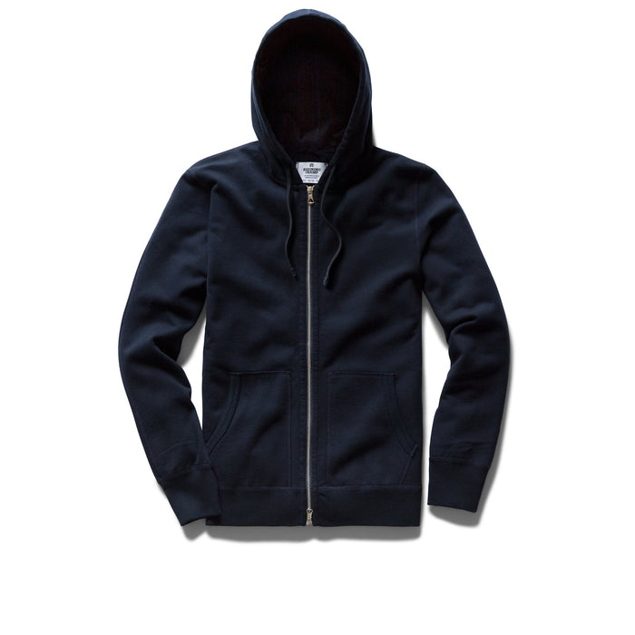 Light Weight Zip Hoddy - Navy