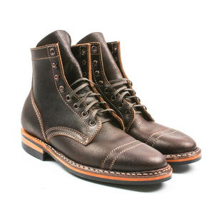White's Service MP Cap Toe Brown Wax