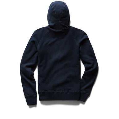 Light Weight Zip Hoodie - Navy