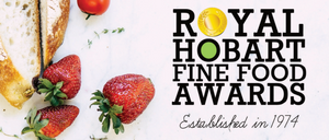 range TASMANIA wins big at Hobart Fine Food Awards