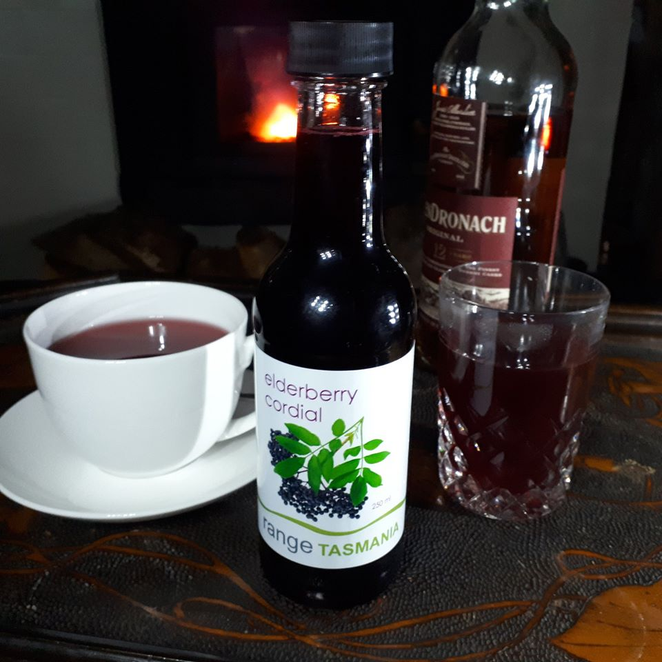 elderberry cordial - 250ml