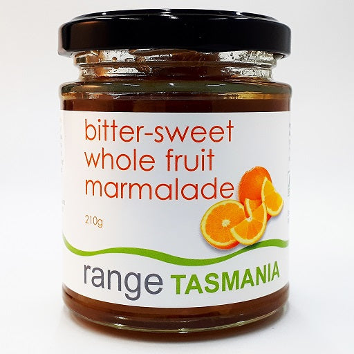 bitter-sweet whole fruit marmalade - 210g