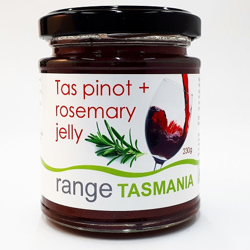 Tas pinot + rosemary jelly - 230g