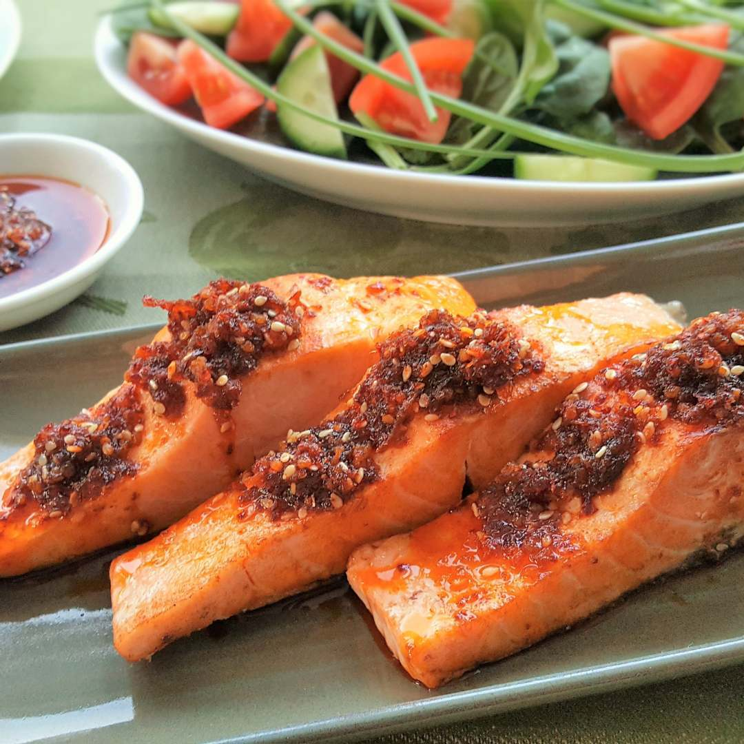 sesame chilli condiment - hot - 170g