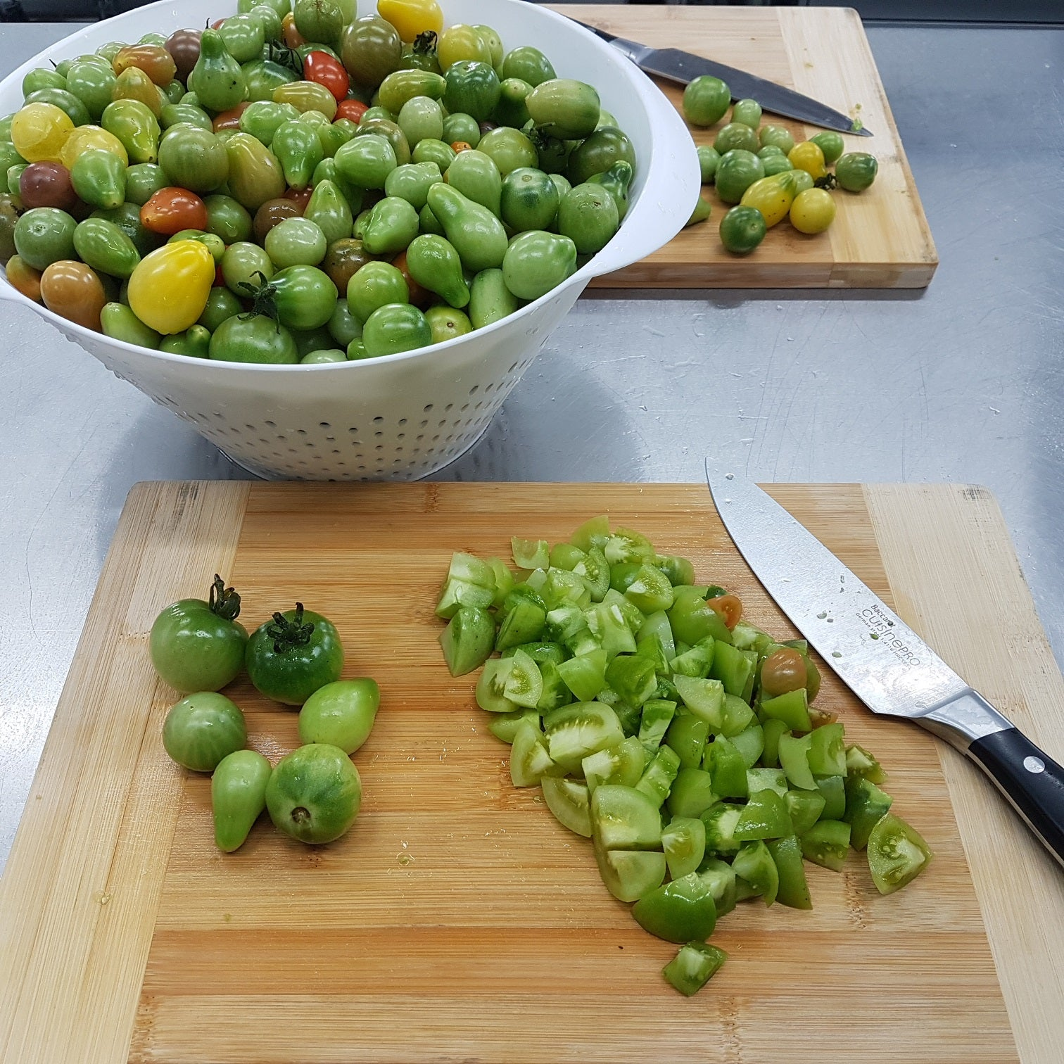 green tomato + Tasmanian pepperberry pickle - 200g