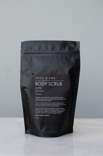 BODY SCRUB- Soul and Ark