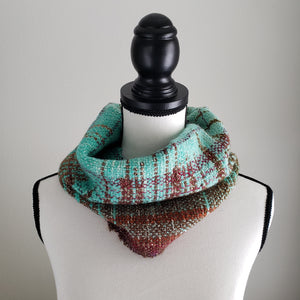 028 Half Cowl | Seafoam Earth