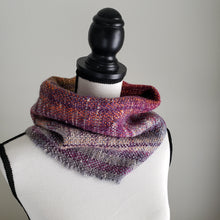 Load image into Gallery viewer, 034 Half Cowl | Purple Gray
