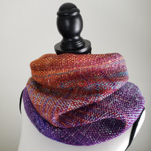 Load image into Gallery viewer, 044 Cowl | Orange Purple
