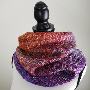 044 Cowl | Orange Purple