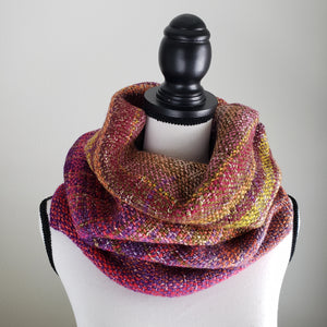 046 Cowl | Purple Orange Earth