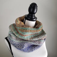 Load image into Gallery viewer, 049 Cowl | Blue Gray Earth