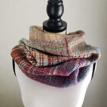 Load image into Gallery viewer, 051 Cowl | Orange Purple Earth