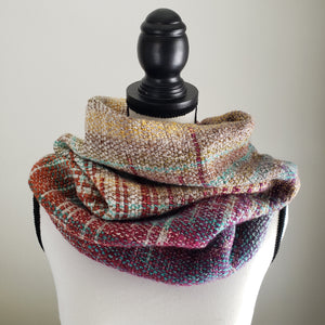 051 Cowl | Orange Purple Earth