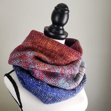 Load image into Gallery viewer, 052 Cowl | Orange Blue