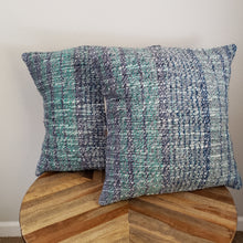 Load image into Gallery viewer, Pillow | Grey Green Blue | Slip Cover only, 18x18
