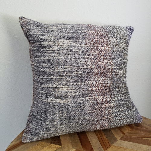 Pillow | Grey Earth | Slip Cover only, 18x18