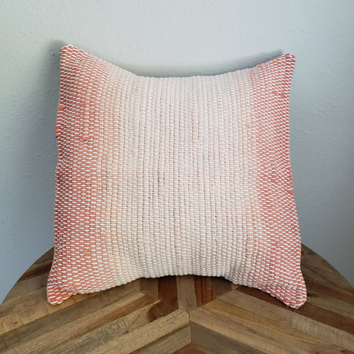 Pillow | Peach Ombre | Slip Cover only, 18x18