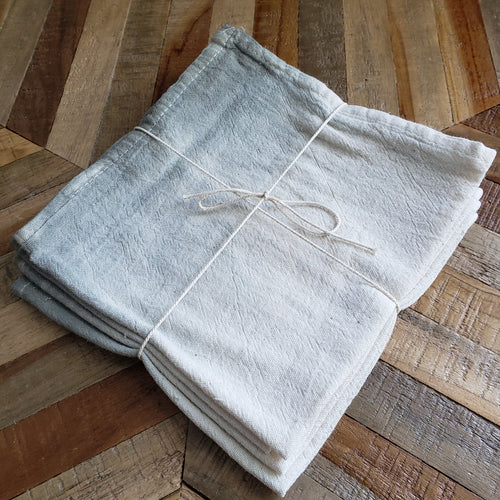 Napkins, Set of 4 | Sage Ombre Dyed